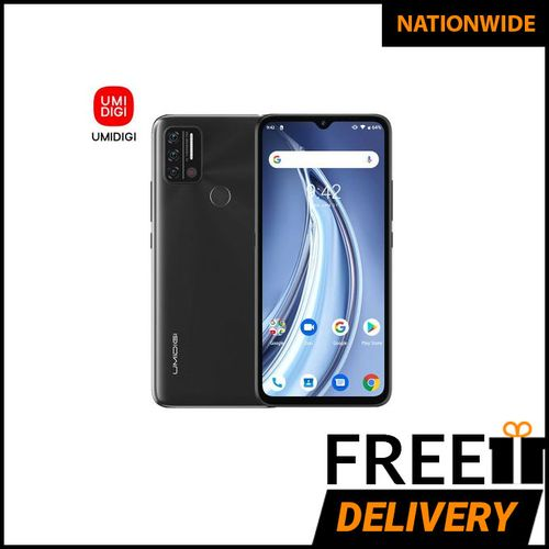 A9 Android 11 Infrared Temperature Sensor (13MP+8MP+2MP)+8MP 6.53-Inch (3GB,64GB ROM)5150mAh Global Version-Granite Grey