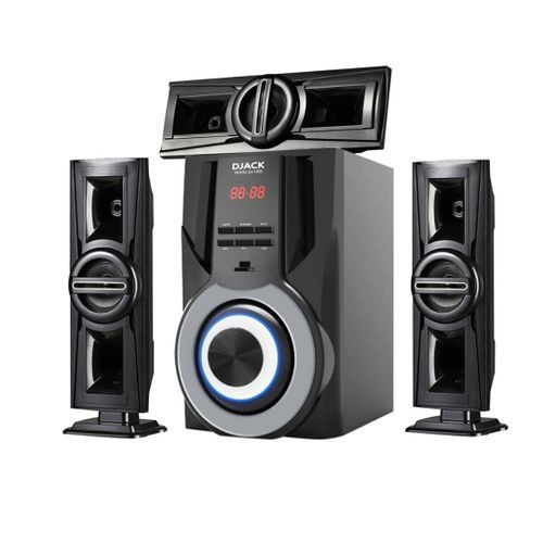 3.1ch Bluetooth Home Theater 3D REAL SOUND DJ 1003..