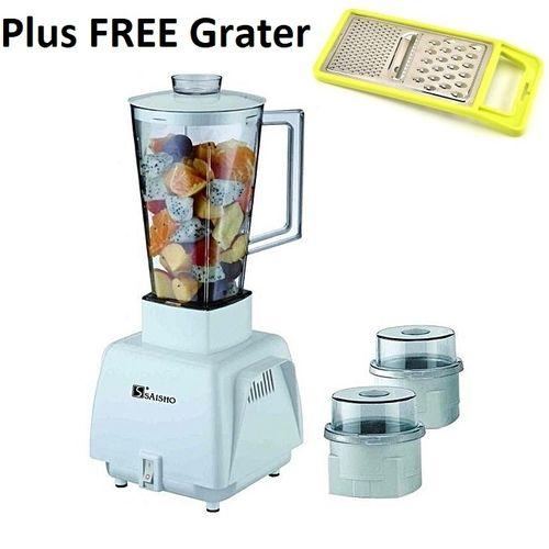 3 In 1 Grinder + Blender 1.0 Ltr S-742 Plus FREE Grater