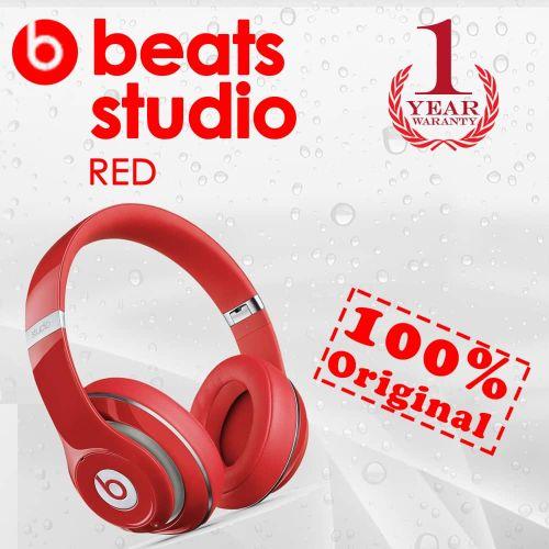 Beats Studio 3 Wireless Over-Ear Headphones- RED