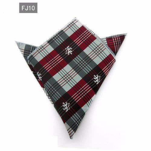 Fashion Handkerchief For Men Suit Western Style Dot Men Paisley Pocket Square Tie Handkerchiefs