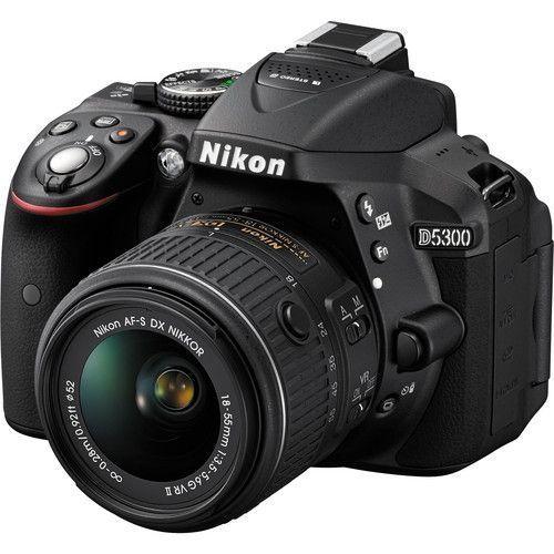 D5300 DSLR Camera With 18-55mm Lens (Black)