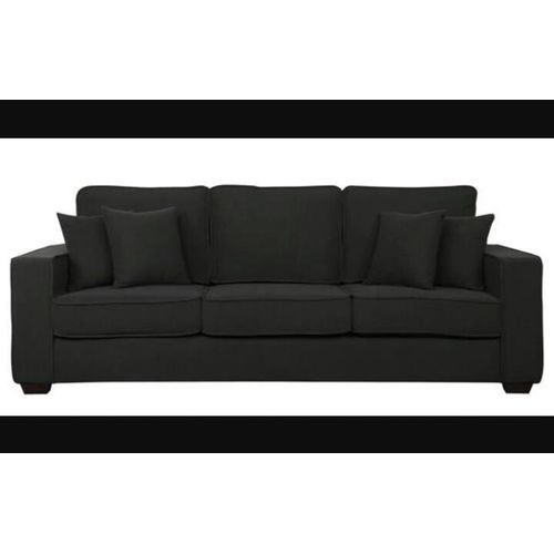 Wonderful Sofa BLACK Get OTOMAN Free. DELIVERY ONLY IN LAGOS