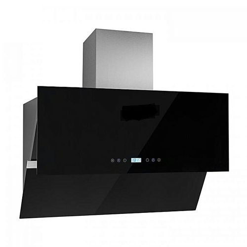 90cm Plasma Hood(heat/smoke) Extractor, Pipeless System (Charcoal System).No Breaking Of Wall Remote Control GS901