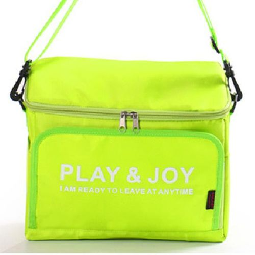 Portable Nylon Thermal Insulation Storage Bag Cooler Lunch Handbags For Car Outdoor Activities