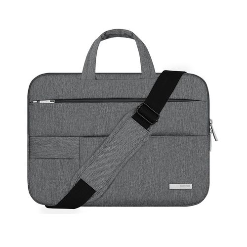 """2018 Laptop Bags Sleeve Notebook Case For Macbook Dell HP Asus Acer Lenovo 11 12 13 14 15 15.6 Inch Cover For Retina Pro 13.3""""(Dark Gray Shoulder)"""