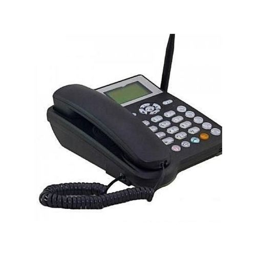 Latest Land Line GSM With Wide Screen Display