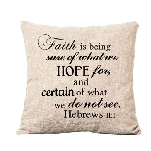 Fantynes Householding Pillow Case Square Pillow Cover Cushion Case Toss Pillowcase Hidden Zipper Closure - Beige