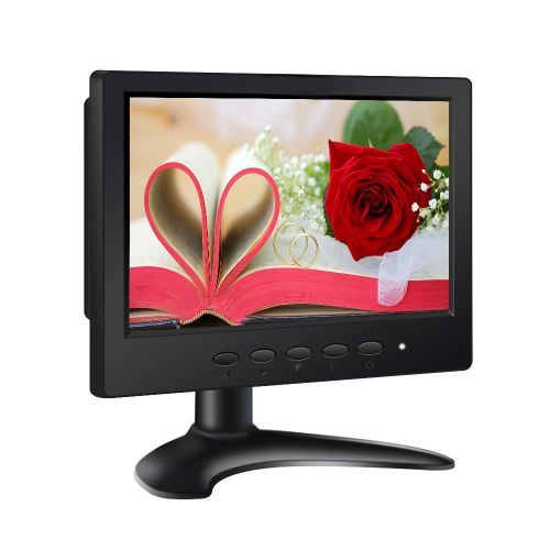 7 Inch 4:3 HD TFT LCD Monitor 1024*600 Resolution With HDMI USB AV BNC VGA Interface