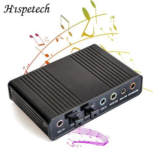 Sound Card USB 5.1 Ch Optical Controller Audio Sound Card