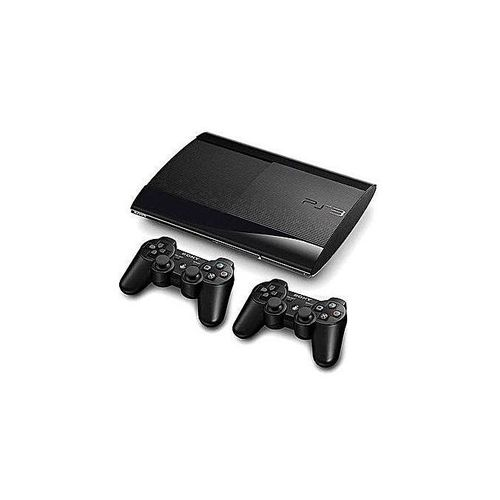 Sony PS 3 SuperSlim 500GB 2 Controller+18 Latest Games FIFA19 And PES19, MK ETC.
