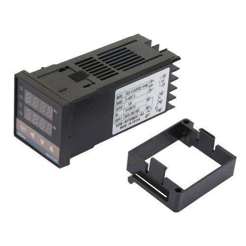 Liukouu REX-C100FK02-V * AN SSR Control Temperature Thermostat Output 0-400 ℃ DC24V