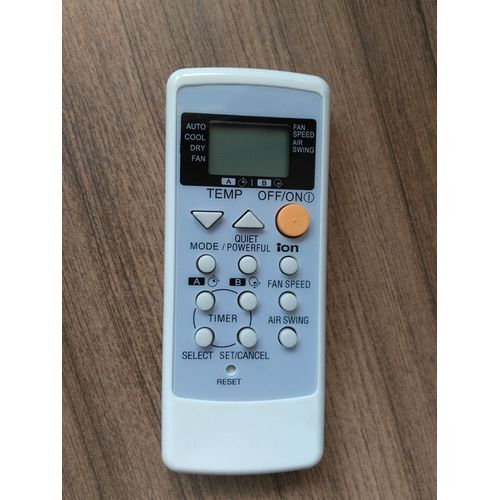 Remote Control For Panasonic National A75C2287 A75C2450 A75C2458 A75C2308 Air Conditioner