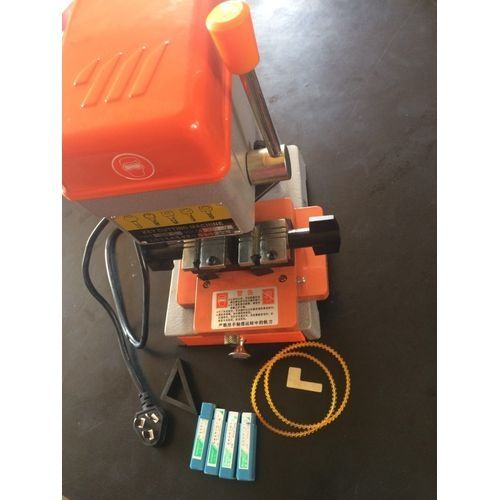 Key Cutting Machine Dimple Cutter Vertical Electric Locksmith Tool V Boot