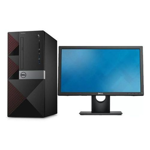 Vostro 3668 Desktop Intel Pentium Dual Core 3.50 GHz 500GB/4GB RAM DDR4 Freedos+ 18.5 Monitor