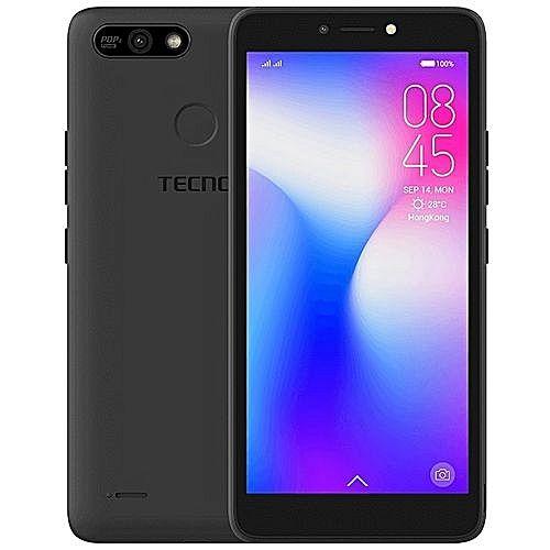 """POP 2F ( B1F) -5.5"""", Android 8.1,(16GB ROM+1GB RAM),8MP+5MP Camera With Flash, Battery 2400mAh- Midnight Black"""