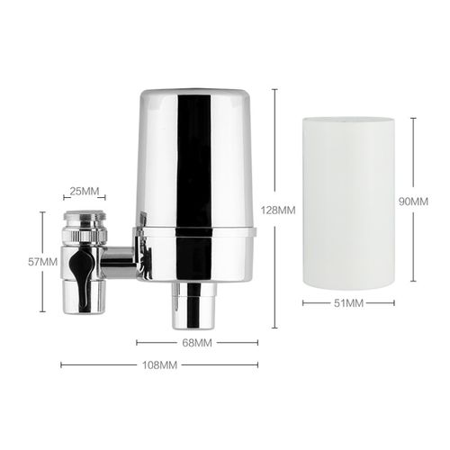 Faucet Water Filter Water Purifier 4 Stage 1/2 Inch