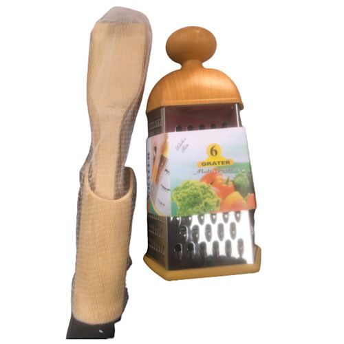 Wooden Grater And Wooden Spoons Set ( Kitchen Utensil)