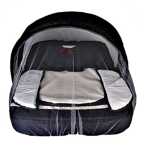 Universal Baby Bed With A Detachable Mosquito Net