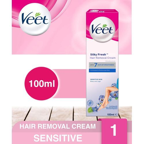 Sensitive Hair Removal Cream - 100ml