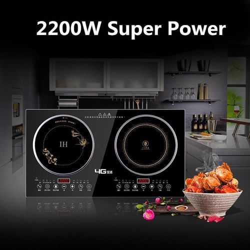 New Dual Induction Cooker/Induction Cooker+Electric Ceramic Cooker Double Burner