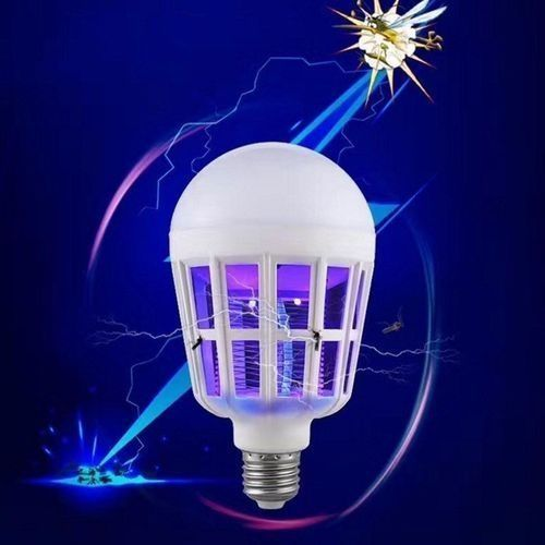 NEW E27 Mosquito Killer LampBug Zapper LED Bulb 2-in-1 Pest Control Light Bulbs For Lures,Zaps&Kills Insects