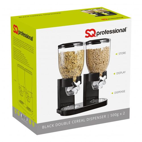 CEREAL DISPENSER DOUBLE CONTAINER - 2 X 500g