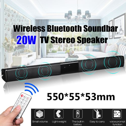 Wireless Bluetooth Soundbar TV Stereo Speaker Subwoofer Sound Bar Home Theater Home Audio