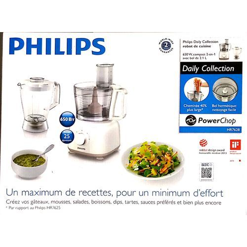 PHILIPS FOOD PROCESSOR - HR7628/01