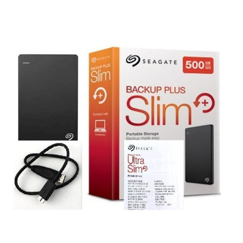 500GB Backup Plus Slim Hard Drive (3.0)