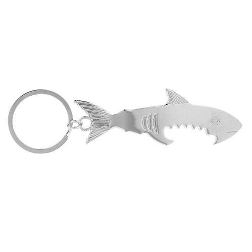 Bottle Opener, Fish-shaped Pendant Metal Keychain Bottle Opener Bag Key Ring Hanging