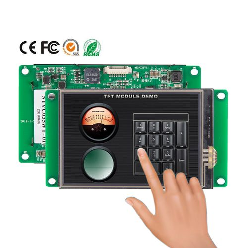 3.5 Inch TFT LCD Display With 65K Color& CPU