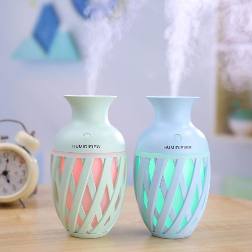 Vase Humidifier USB Atmosphere Night Light Small Air Purifying Nebulizer