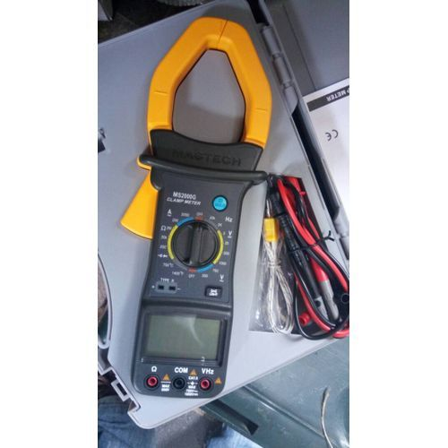 MS2000g Digital Clamp Meter Current AC DC Voltage Resistance Temperature Tester Multimeter - MS2000G