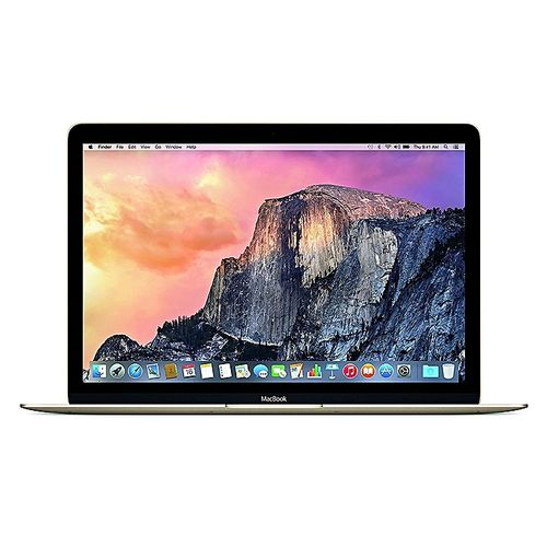 Apple MacBook Intel Core M Dual Core 1.1GHz 256GB 12-Inch With Retina Display Laptop – Gold