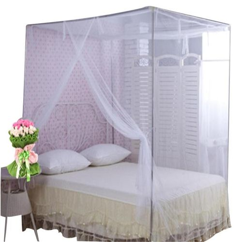 Dtrestocy Encryption Nets 1.5 M Bed Student Dormitory Mosquito Nets Party White