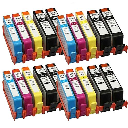 20 Ink Cartridges 364 364XL For PhotoSmart 5520 5510 6520 7520 B110a With Chips(Tri-Color)