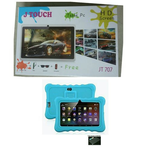 8Gb/ 2GB RAM Eductional Children Tablet (Pre-Installed Educational Apps)+Free Screen Protector And Free Gift- Blue Pouch