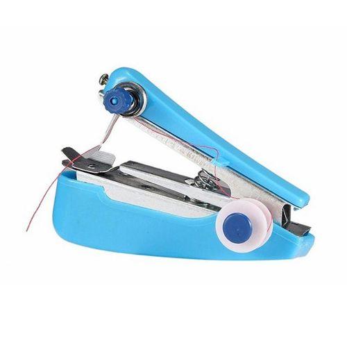Portable Mini Manual Sewing Machine Household Compact Sewing Machine For Hem Pants Damaged Bag Cloths Fast Repairs Sewing 1PC J2 SLS