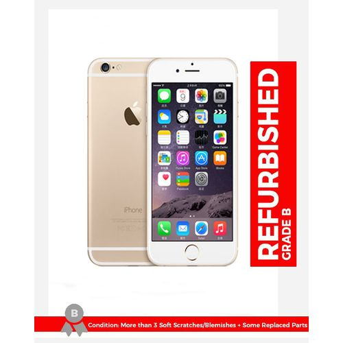 IPhone 6 Plus 5.5 Inch 1GB + 16GB 8MP + 1.2MP Finger Sensor 4G LTE Smartphone ( Free Gift) – Gold