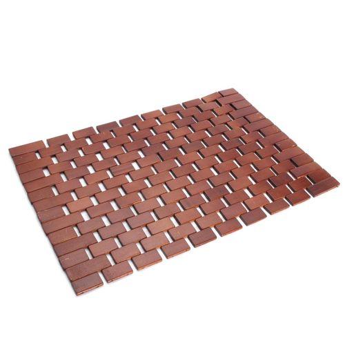 NEW Bamboo Wooden Folding Bath Mat Slatted Duck Board Non Slip Shower Bathroom