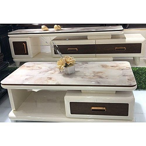 TV Stand And Table With Drawers