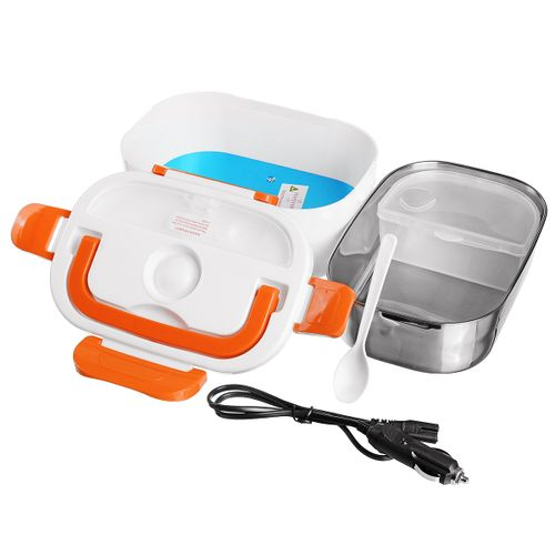 Portable Electric 12V Heated Stainless Lunch Box