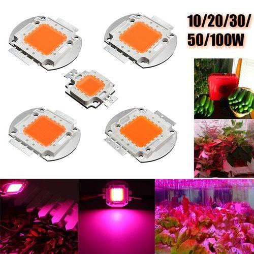 50x50W 30-36V 1750MA Full Spectrum High Power LED Chip Grow Light
