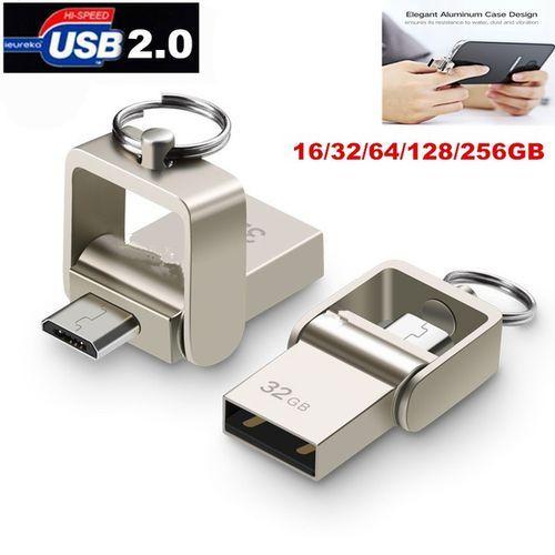 New USB Flash Drive, Metal OTG Pendrive High Speed USB Memory Stick 256GB 512GB Pen Drive Capacity Flash U Disk Grand Listing