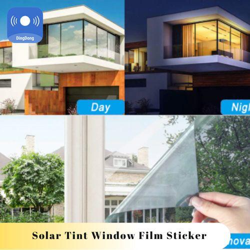 Solar Tint Window Film Sticker UV Reflective One Way Privacy