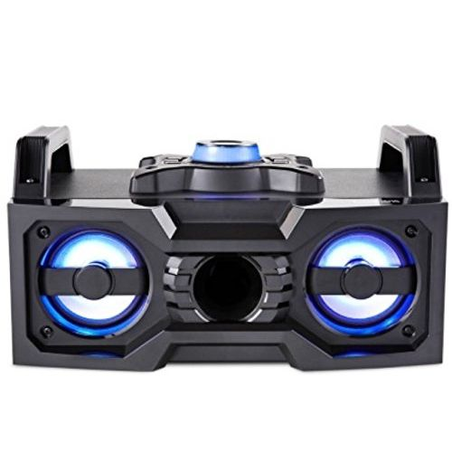 EXLG Wireless Multicolored LED Boombox DJ Sound System