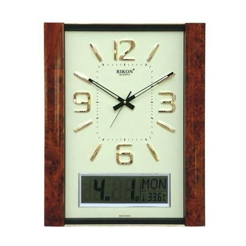 RIKON DIGITAL ANALOG WALL CLOCK