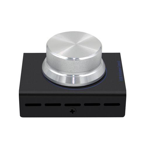 USB Volume Control Regulator Usb Volume Contro Audio And Video Clip Locator-black