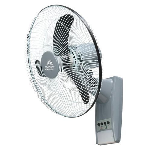 Rechargeable Wall Fan With 10 Watts Solar Panel
